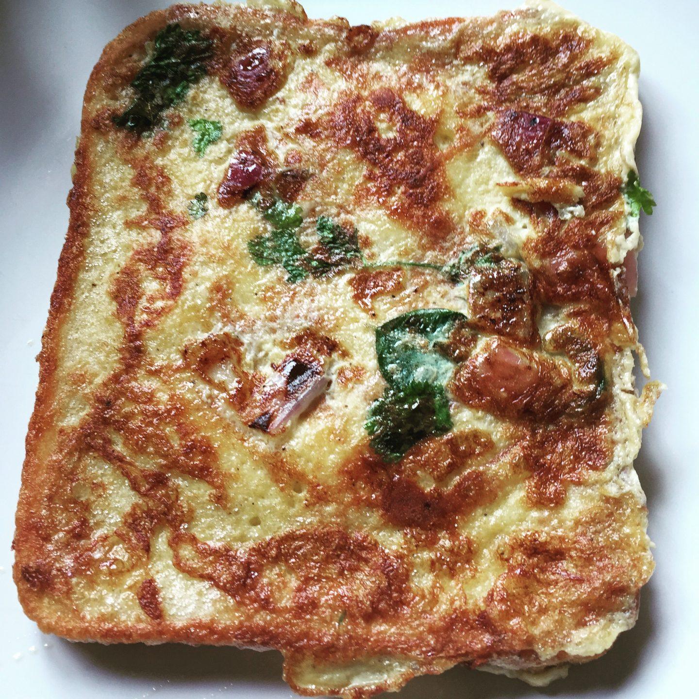 Rajkumari toast – Spicy, eggy bread