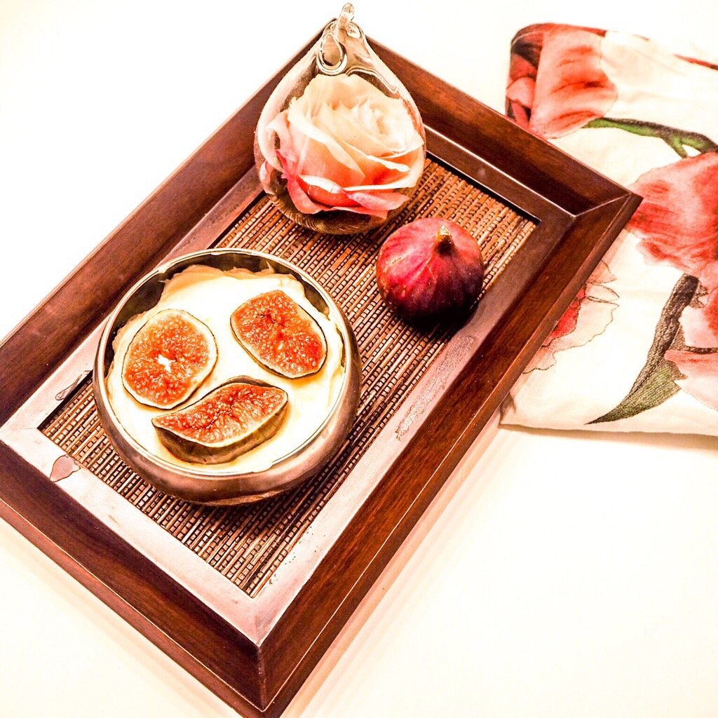 Figs and Mascarpone Dessert