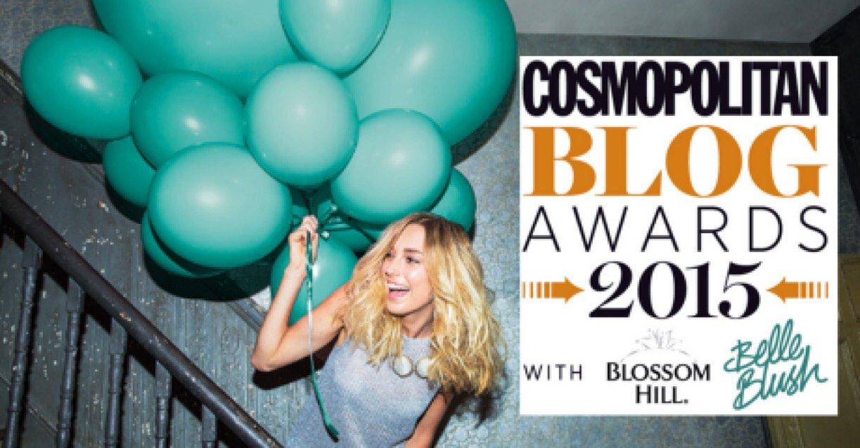 Binnys Kitchen is a Shortlist in the Cosmopolitan Blog Awards 2015 – vote :-)
