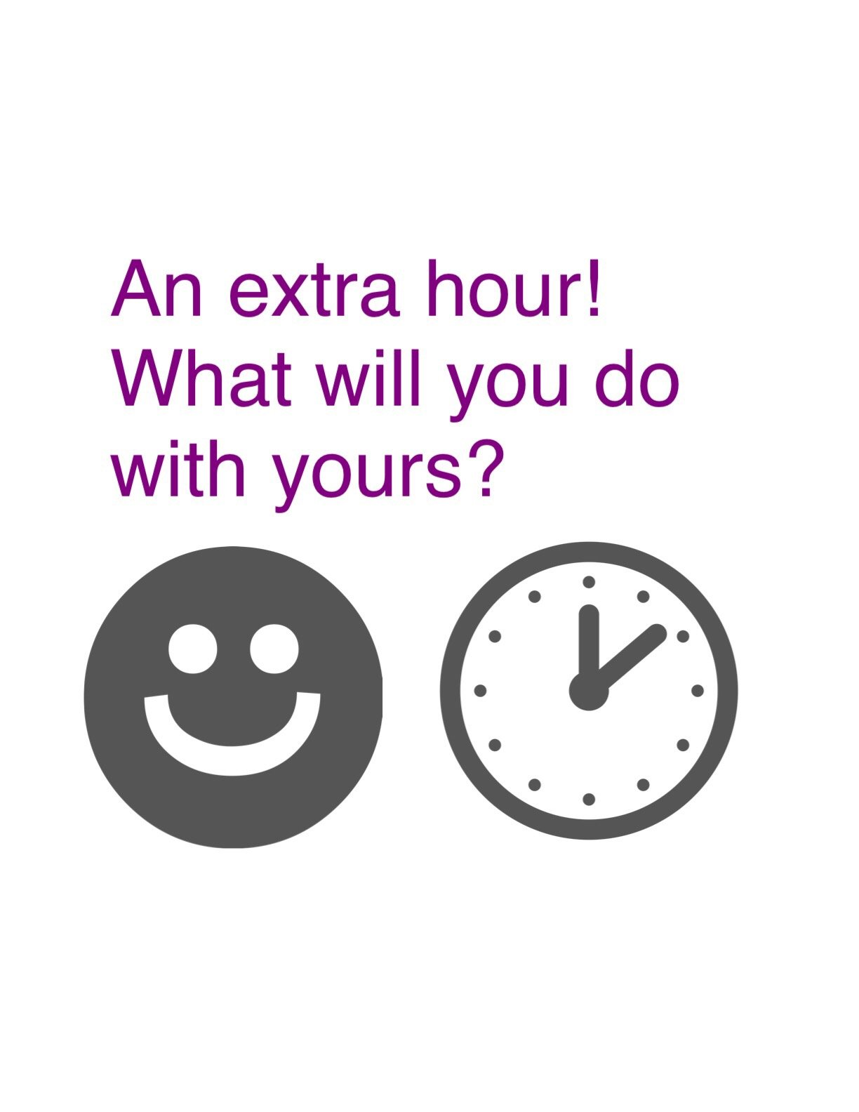 10 things to do with your extra hour