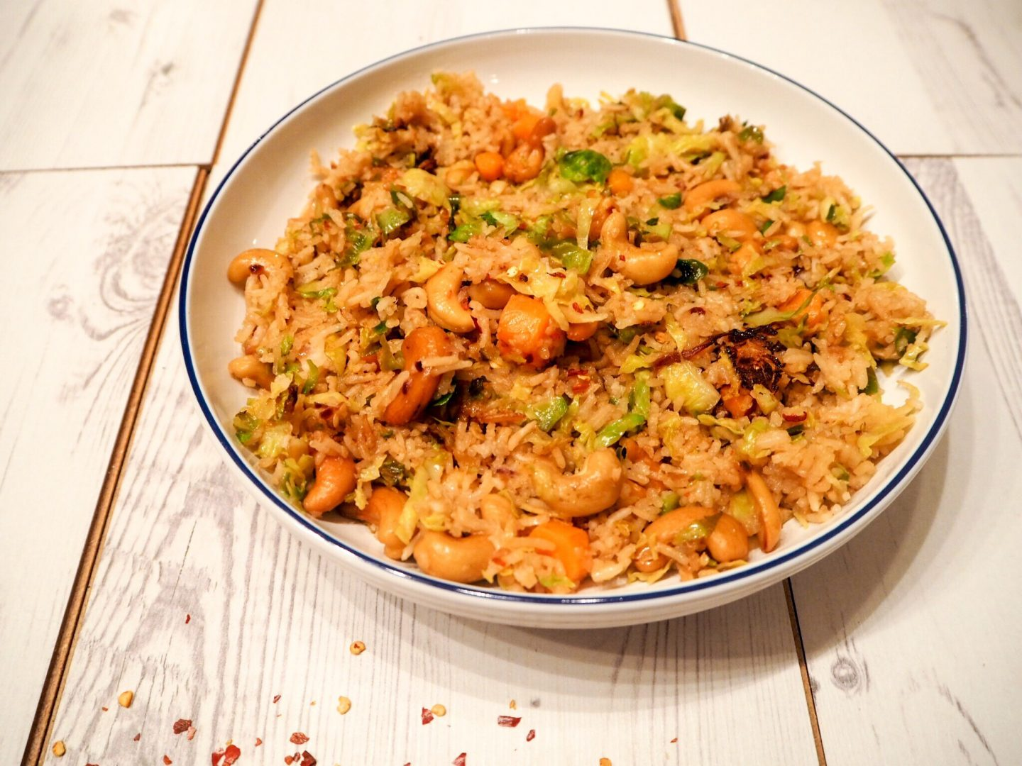 Seasonal Asian Vegetable Fried Rice