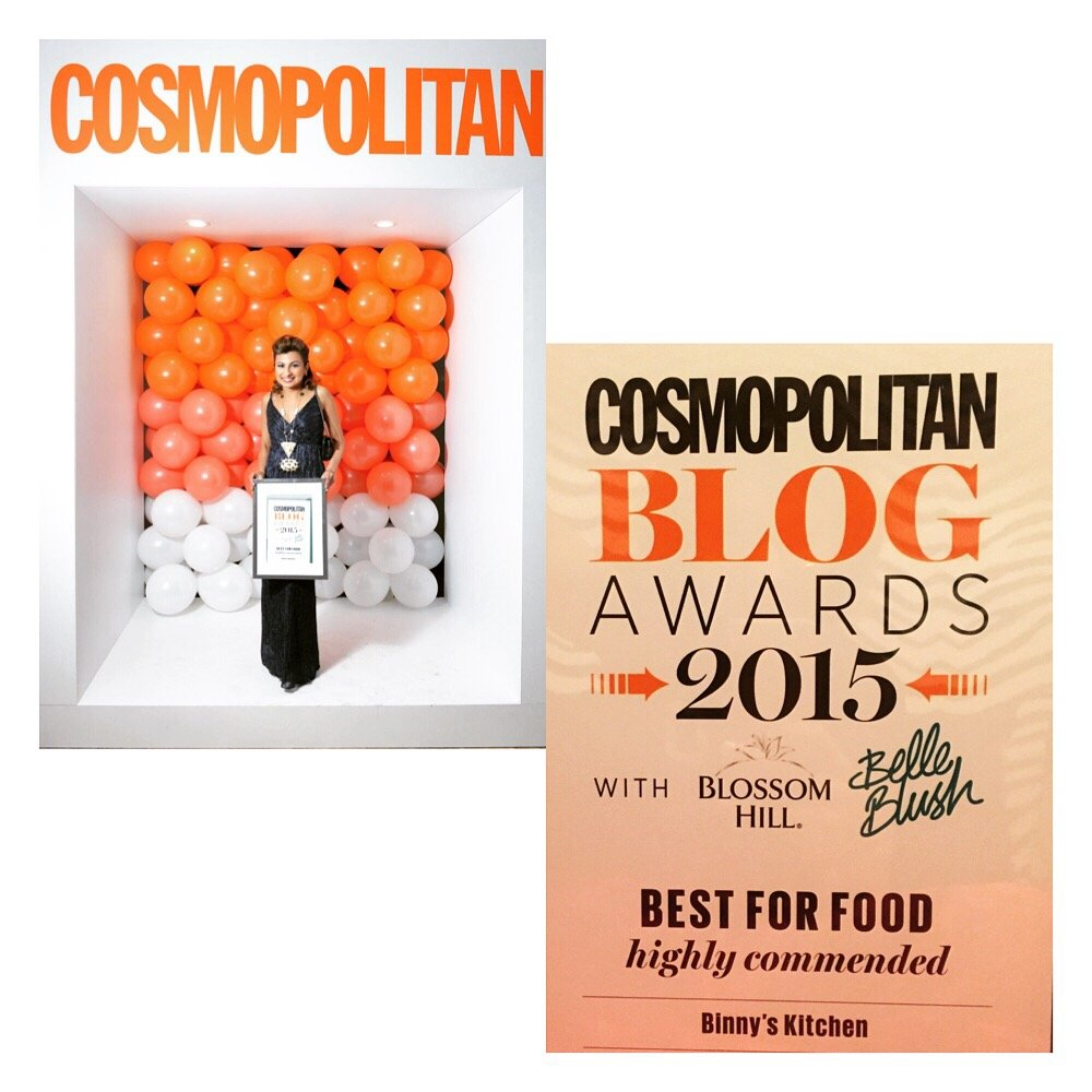 Highly Commended #CosmoBlogAwards