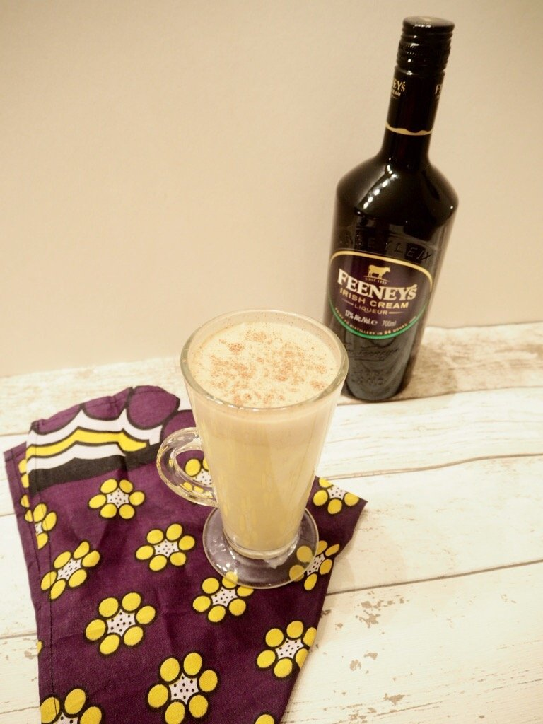 Feeney's Custard and coffee cocktail