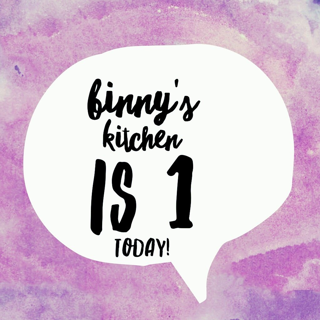 Binny's Kitchen turns 1! A very special anniversary