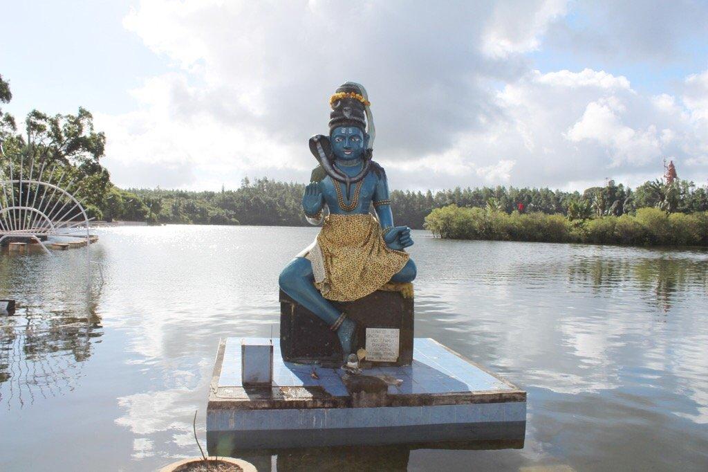 Ganga Talao Hindu Temple in Mauritius