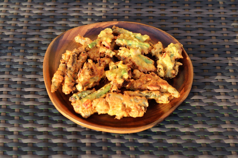 Asparagus Bhajias