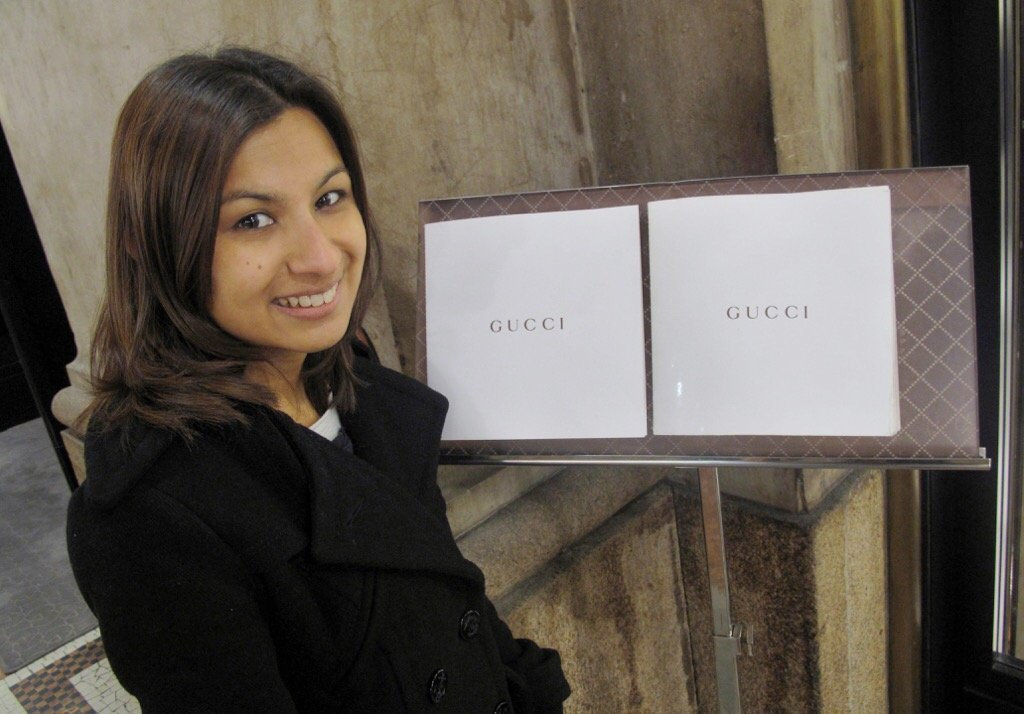 Gucci Cafe in Milan