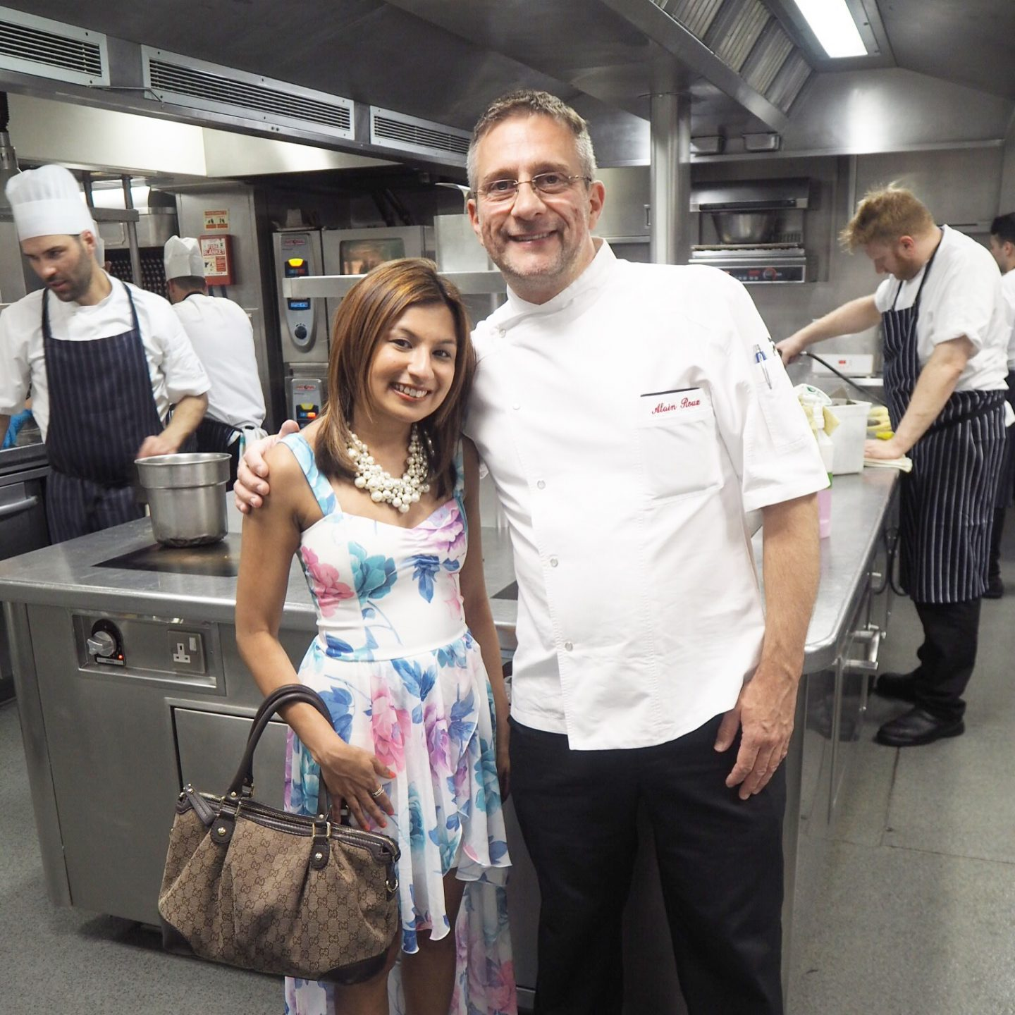 An amazing Three Michelin Star Lunch at The Waterside Inn and meeting Chef Alain Roux