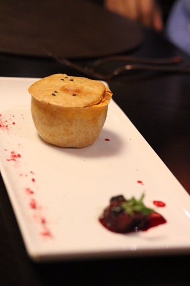 Sindhu – Indian food by Atul Kochhar on board Britannia