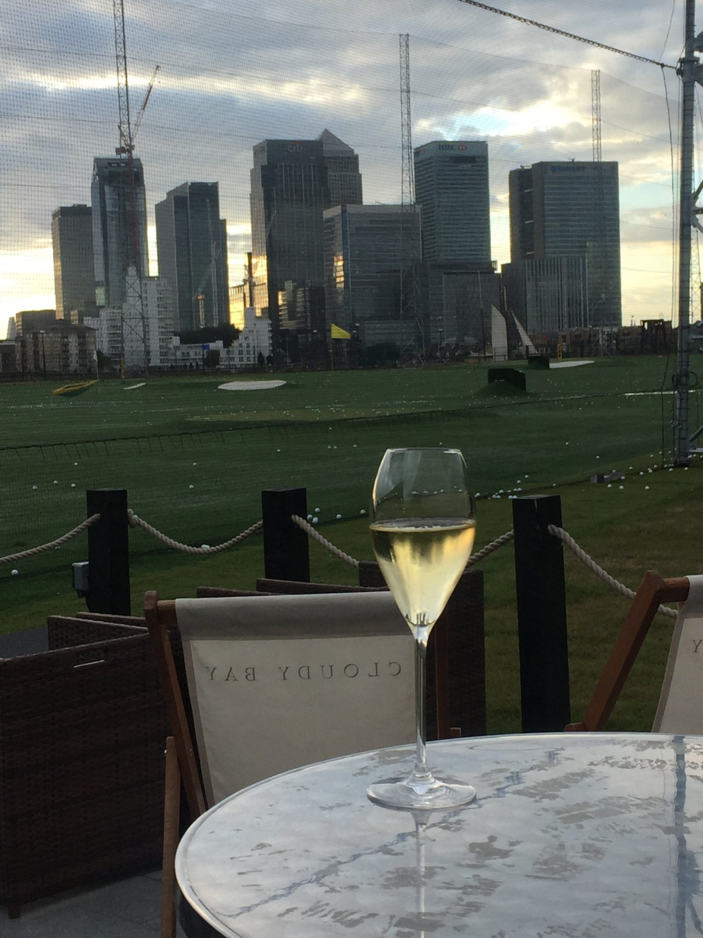 Basque inspired food, delicious wine and a spot of golf in North Greenwich