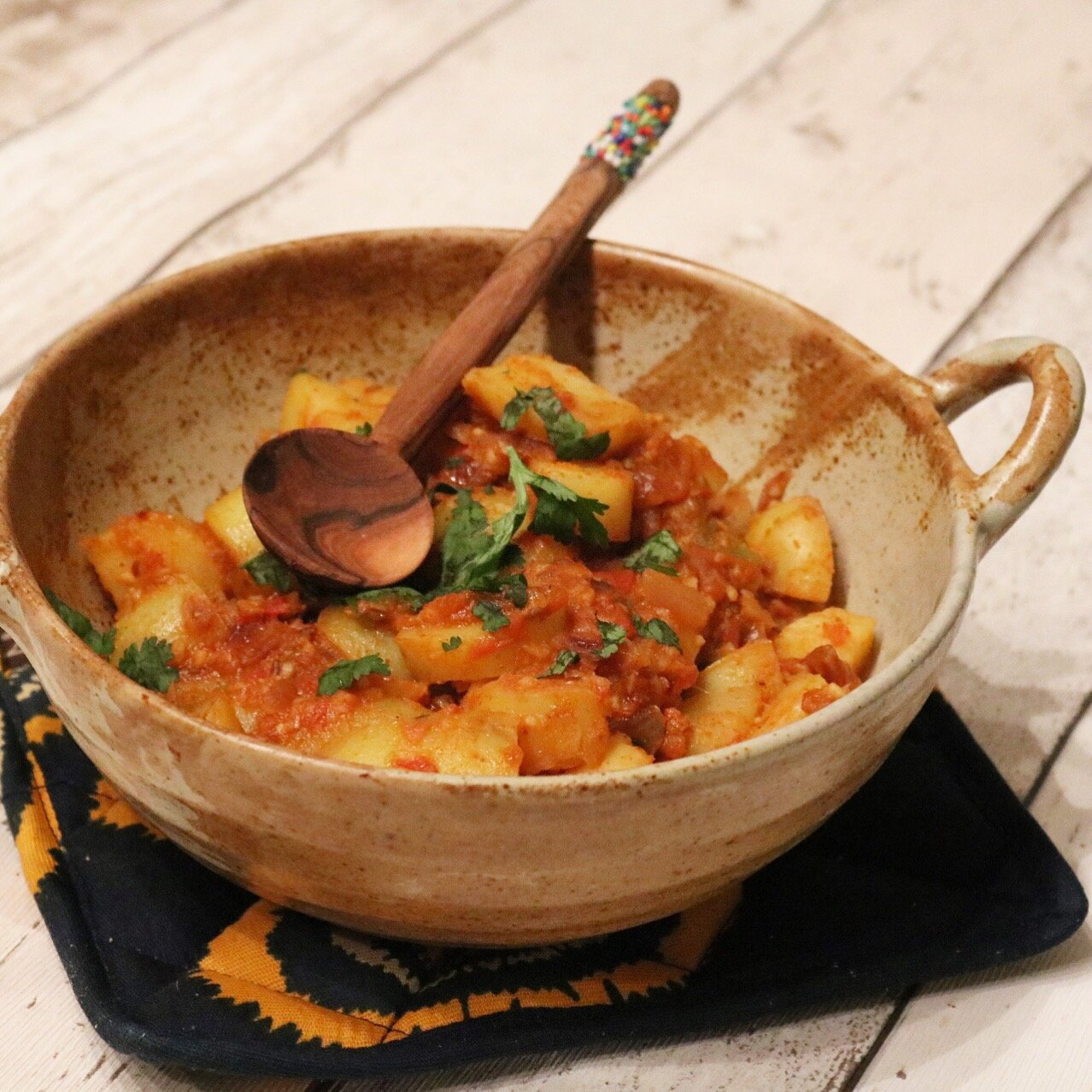 My classic Potato Curry