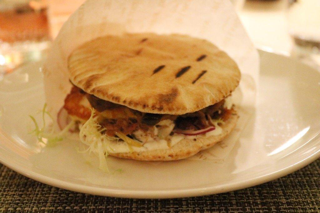 The Club Damascus Sandwich at Langham Hotel #CookForSyria