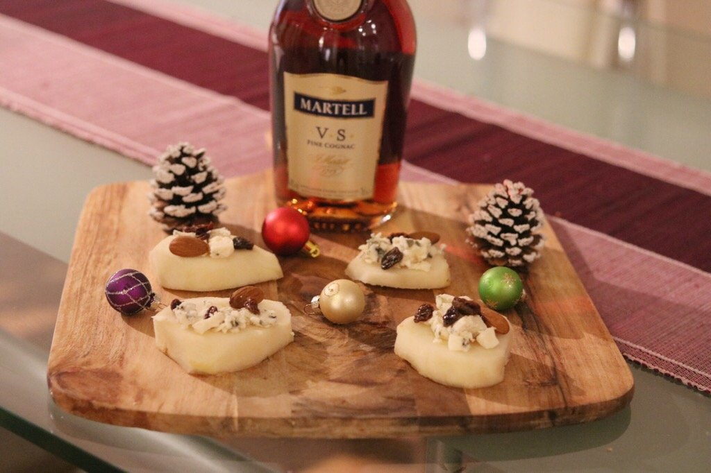 Impress your guests this Christmas with a Martell Cognac 4th Course Food Pairing