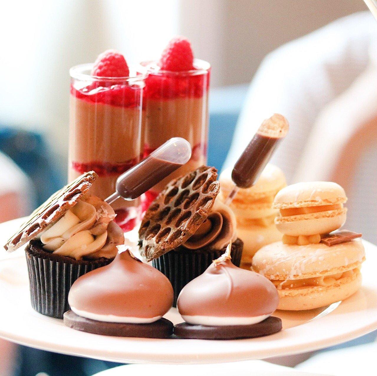 An indulgent ChocolaTEA at The Montagu at Hyatt Regency London – The Churchill