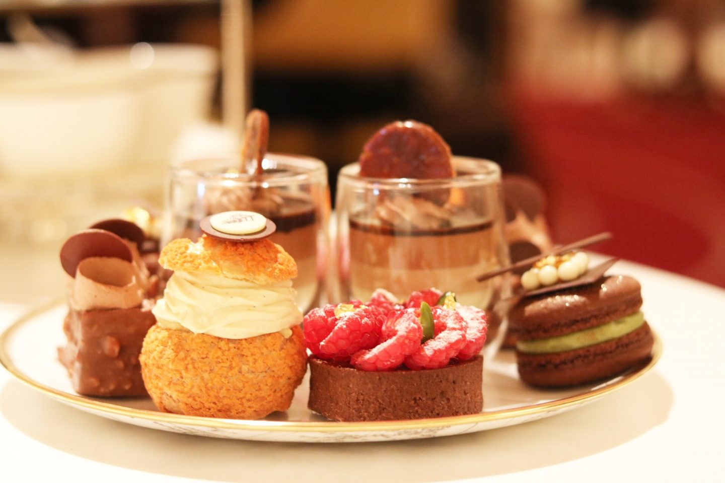 The Chocoholic Afternoon Tea at Four Seasons Hotel London at Ten Trinity Square
