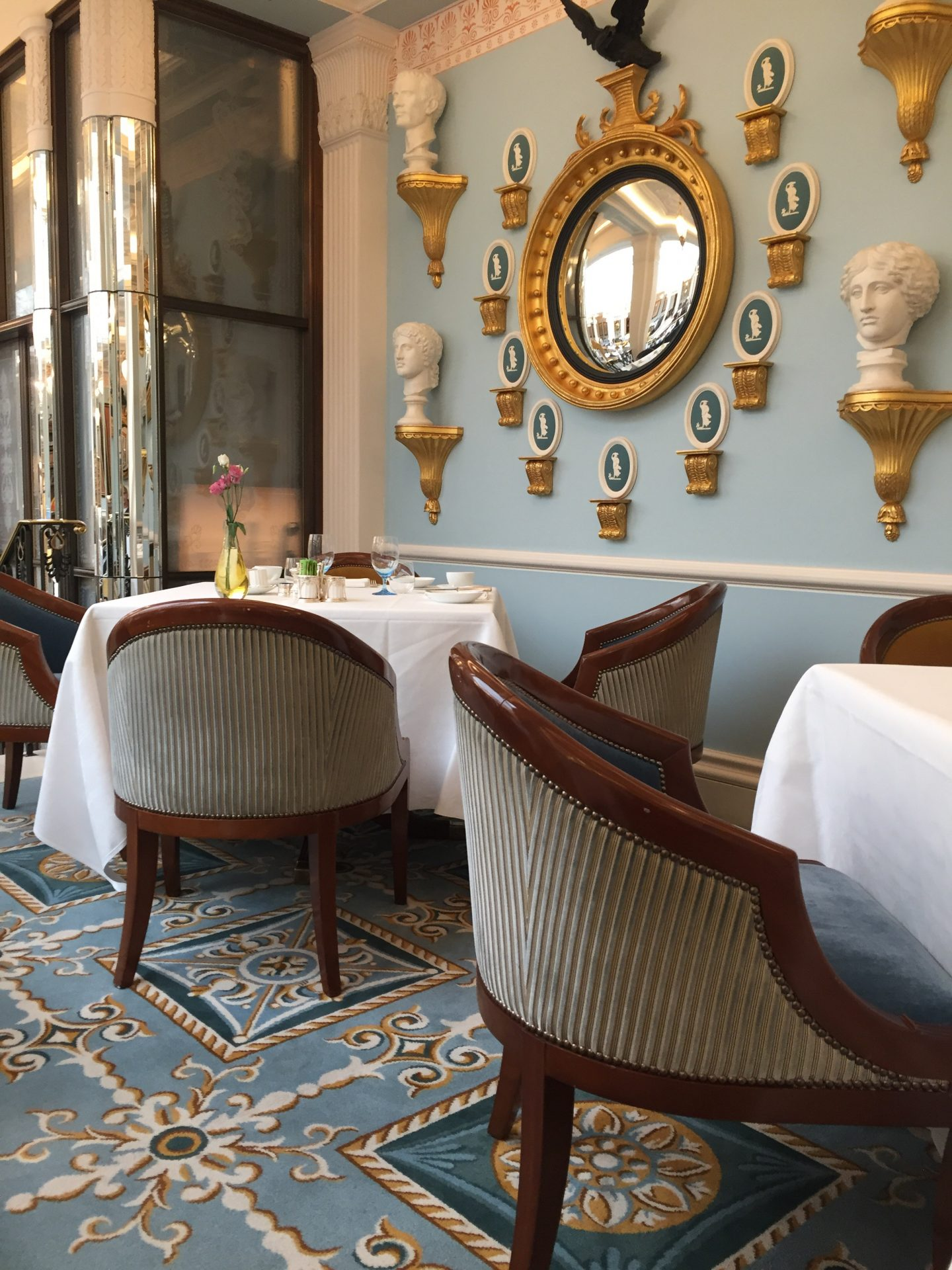 A luxurious breakfast at The Lanesborough