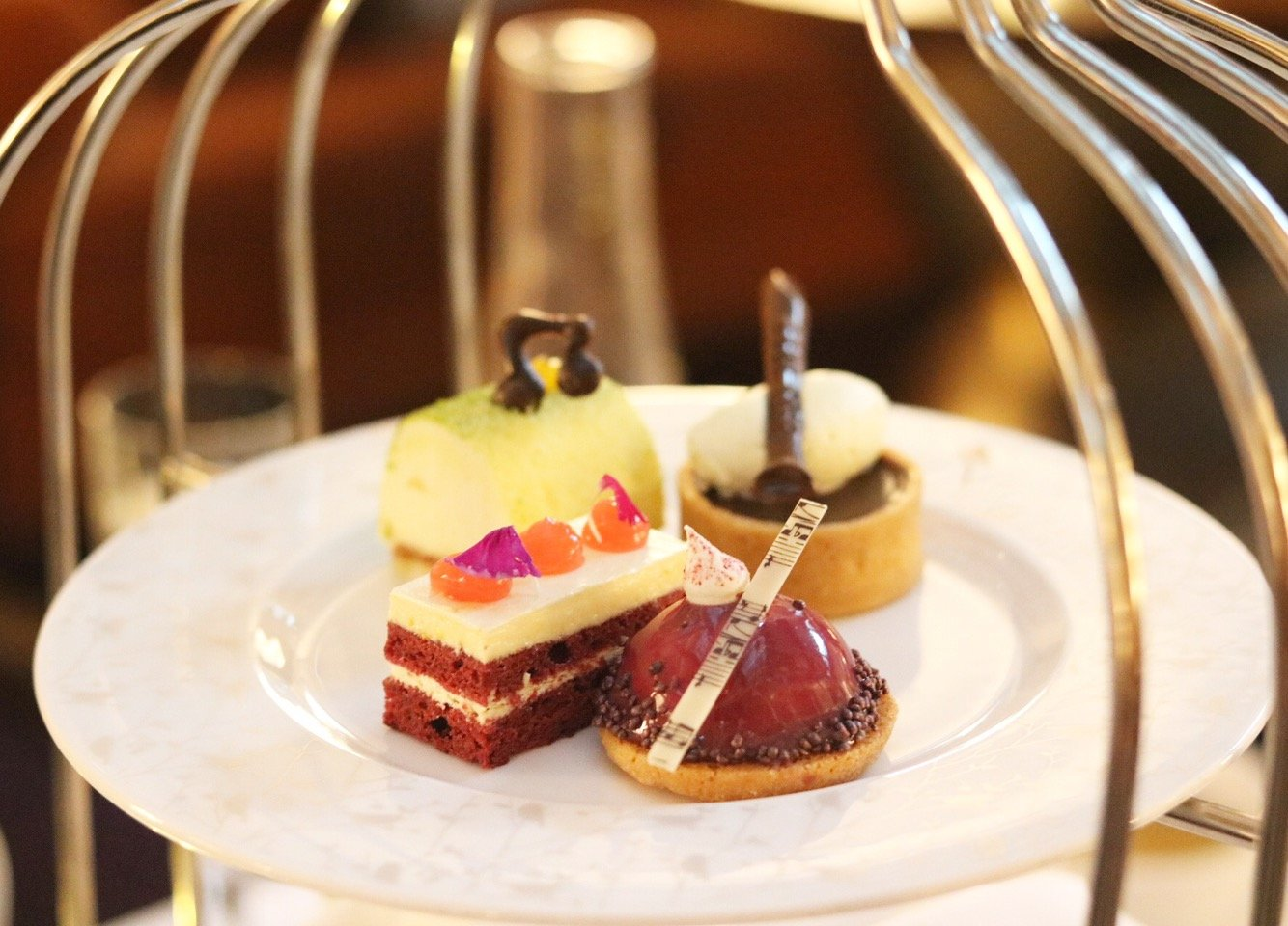 Jazz Afternoon Tea at the Sheraton Grand Park Lane