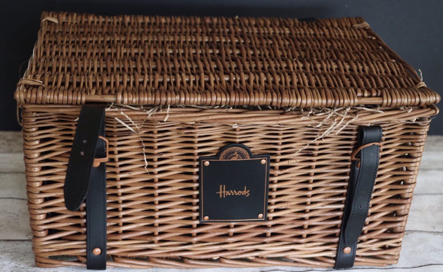 A Harrods Luxury Christmas Hamper
