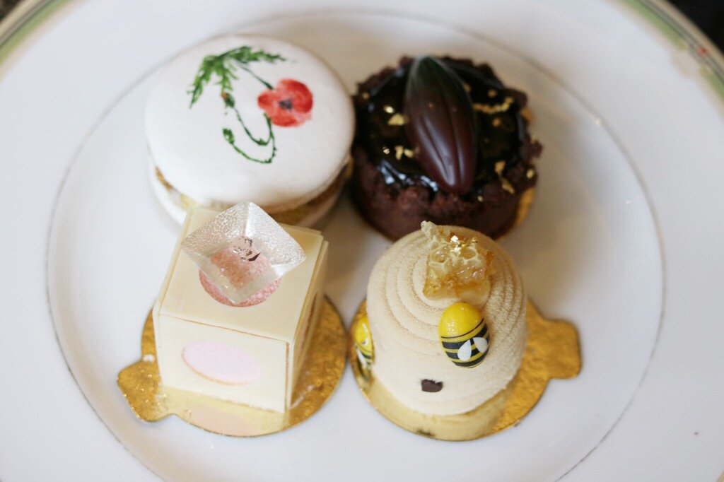 The Garden Tea at Four Seasons Hotel London at Park Lane