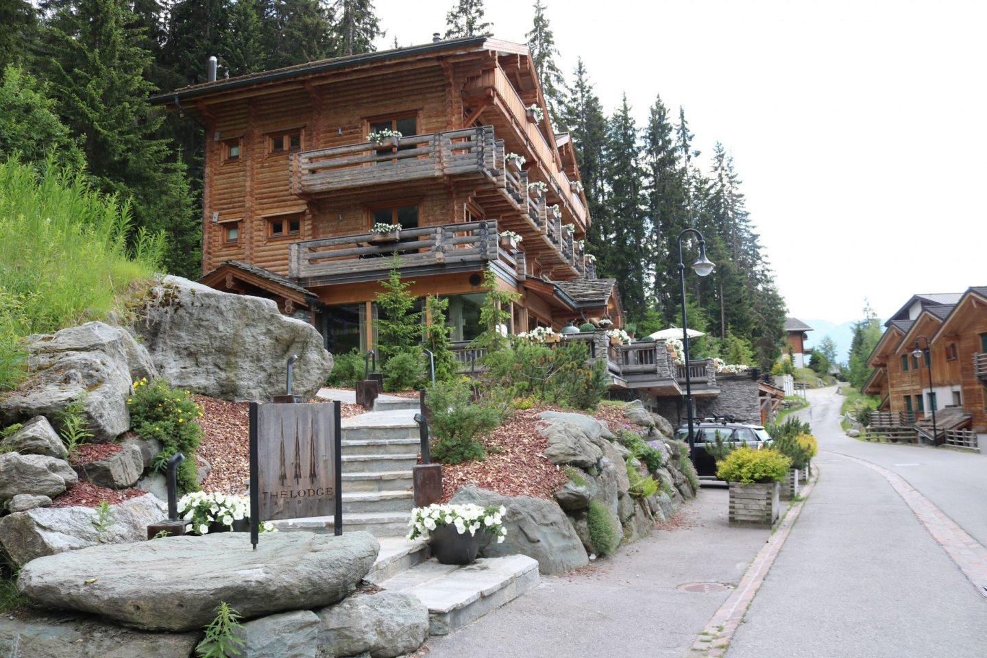 Luxurious Swiss Chalet Chic at The Lodge, Verbier