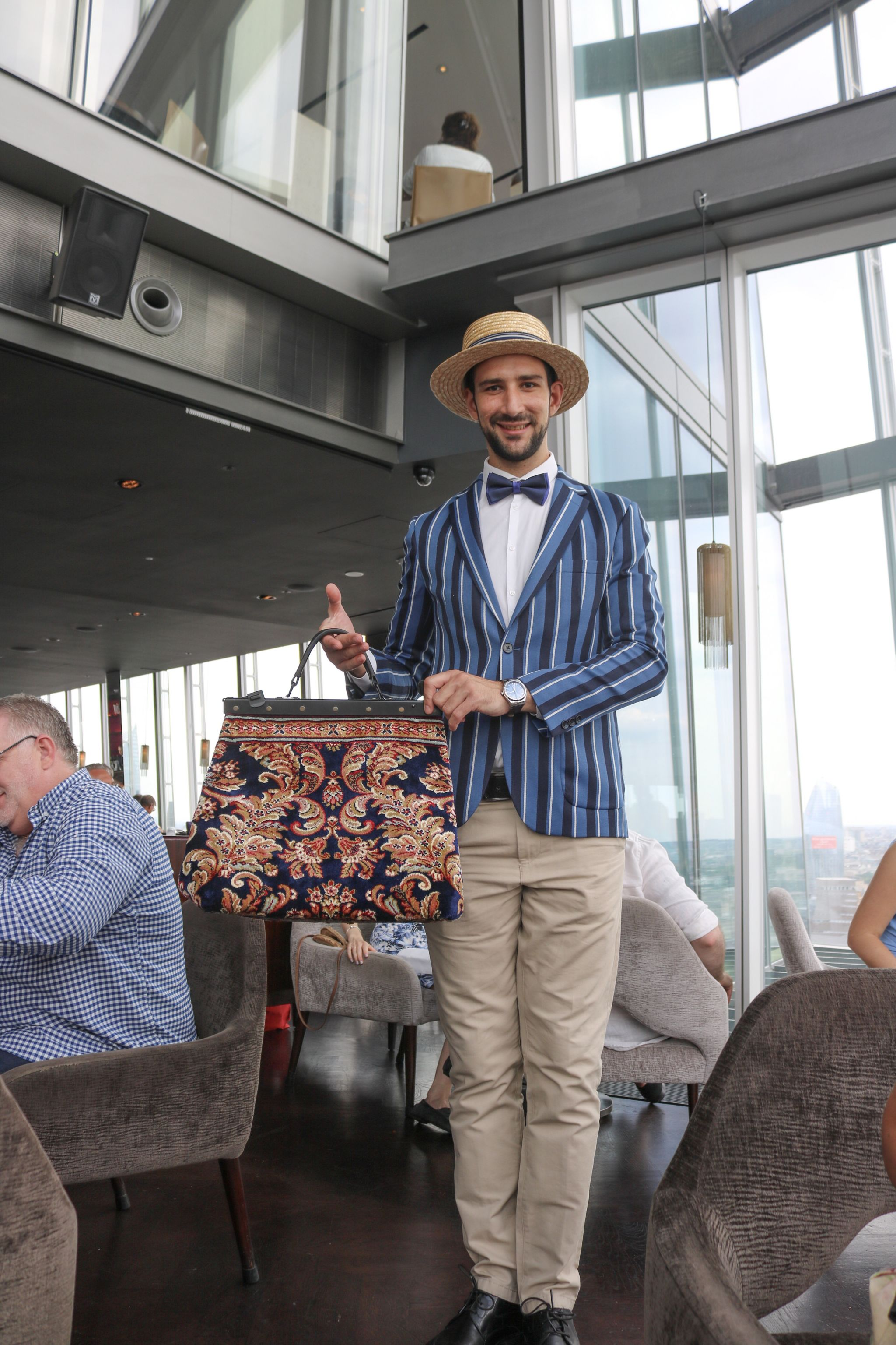 The Mary Poppins themed Afternoon Tea at Aqua Shard, The Shard London.