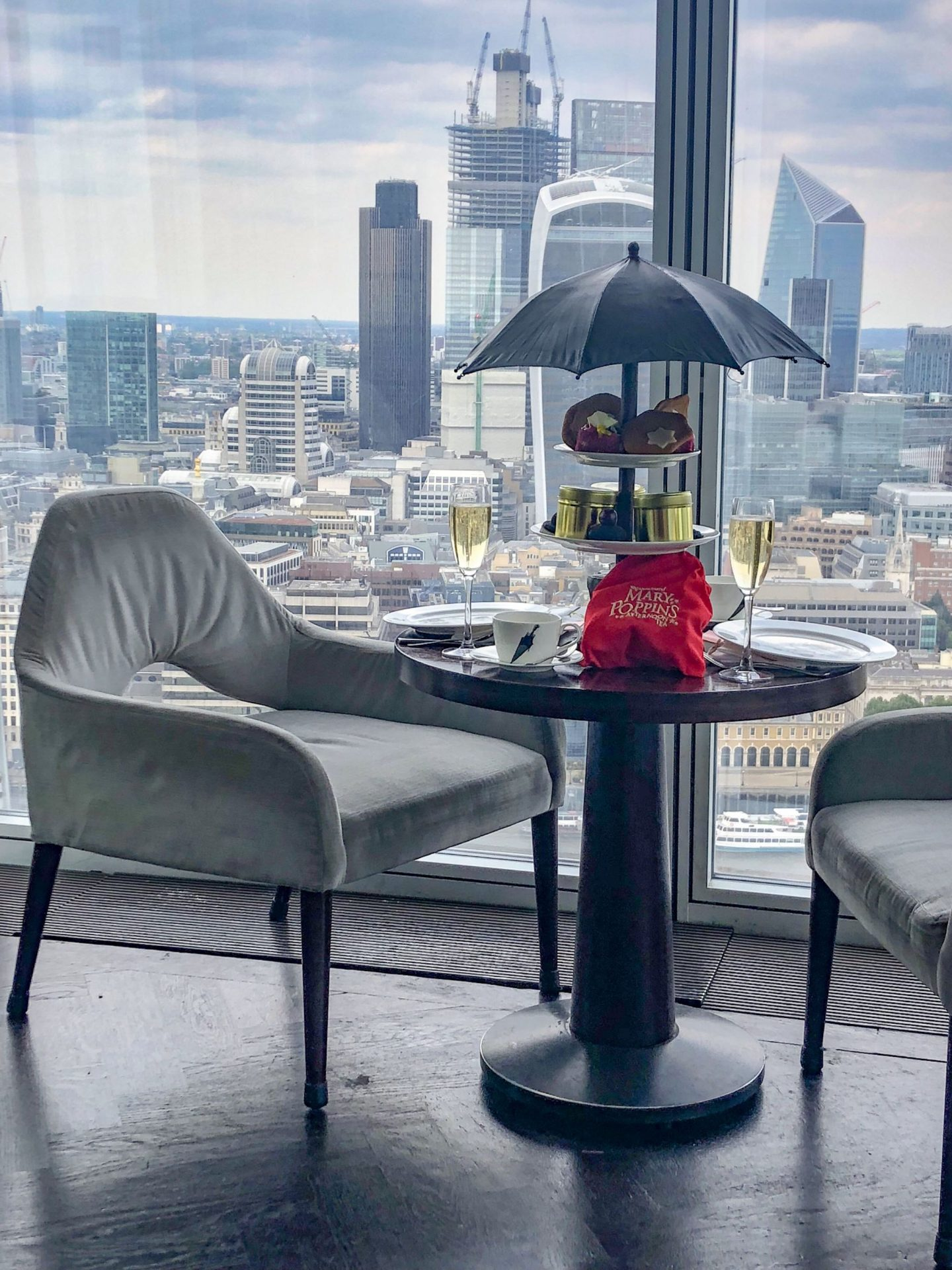 A Supercalifragilisticexpialidocious Mary Poppins Afternoon Tea at Aqua Shard