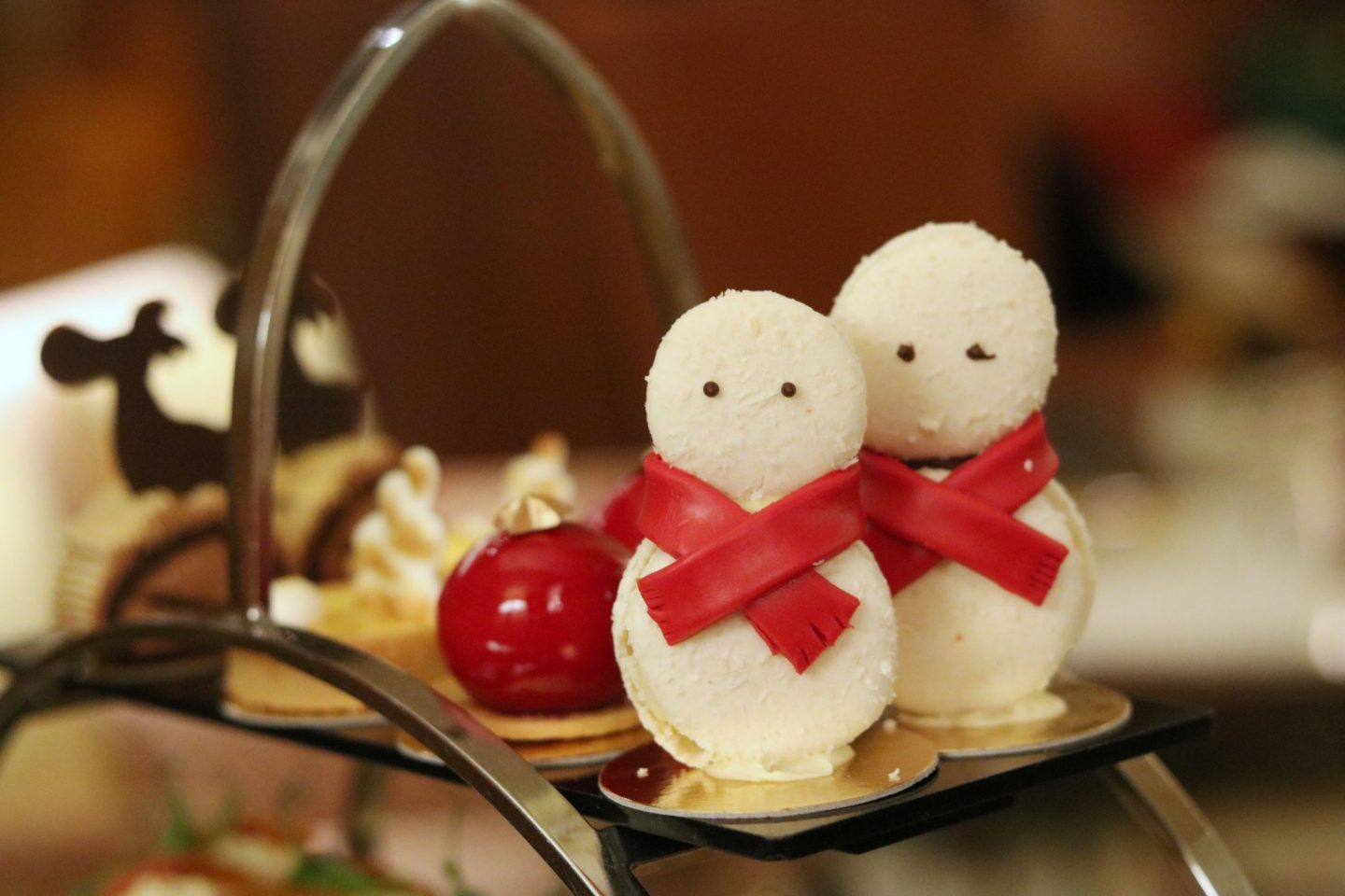 Festive Afternoon Tea at The Chinoiserie, Jumeirah Carlton Tower