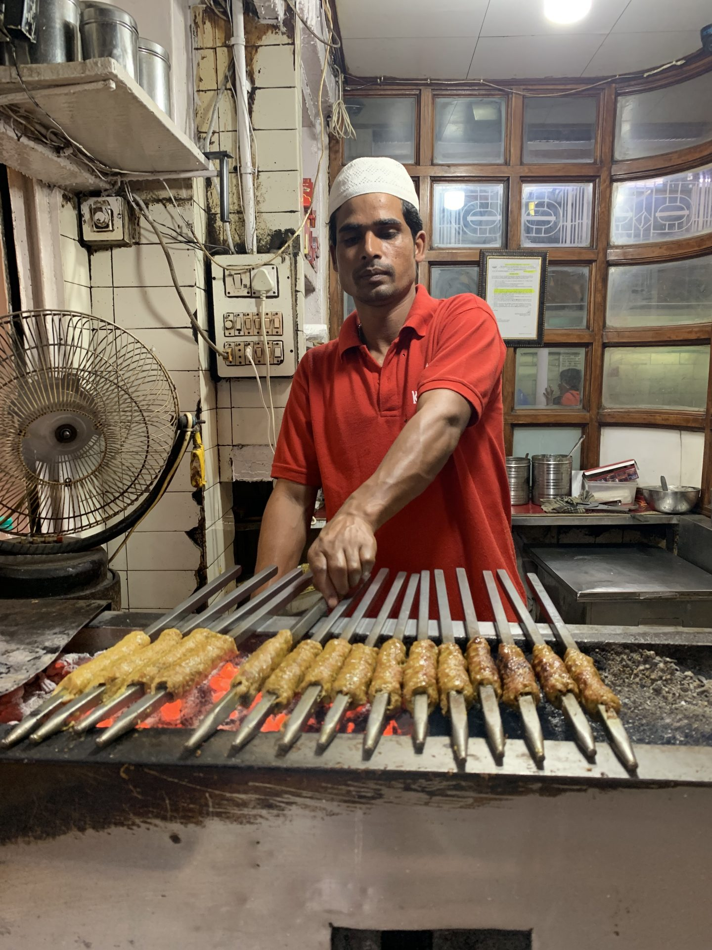 Best Seekh Kebabs I have ever eaten – Karim's in Old Delhi