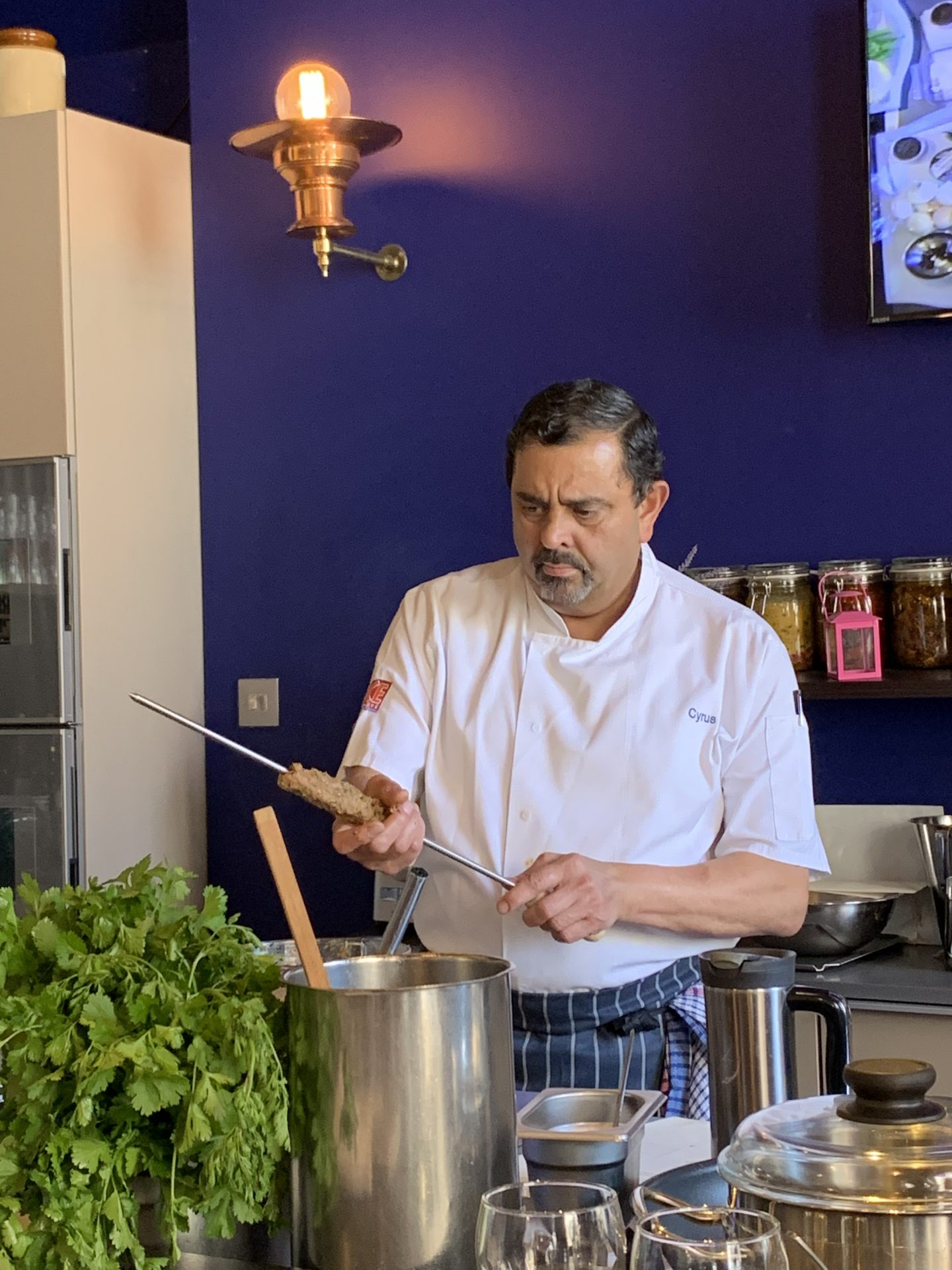 Summer BBQ Masterclass with Chef Cyrus Todiwala, OBE, DL