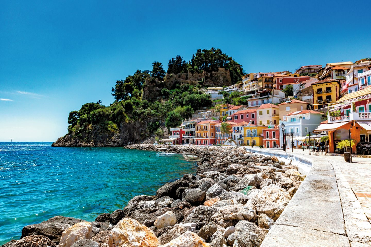 Learning how to cook Greek Food and discovering Parga & Lefkas