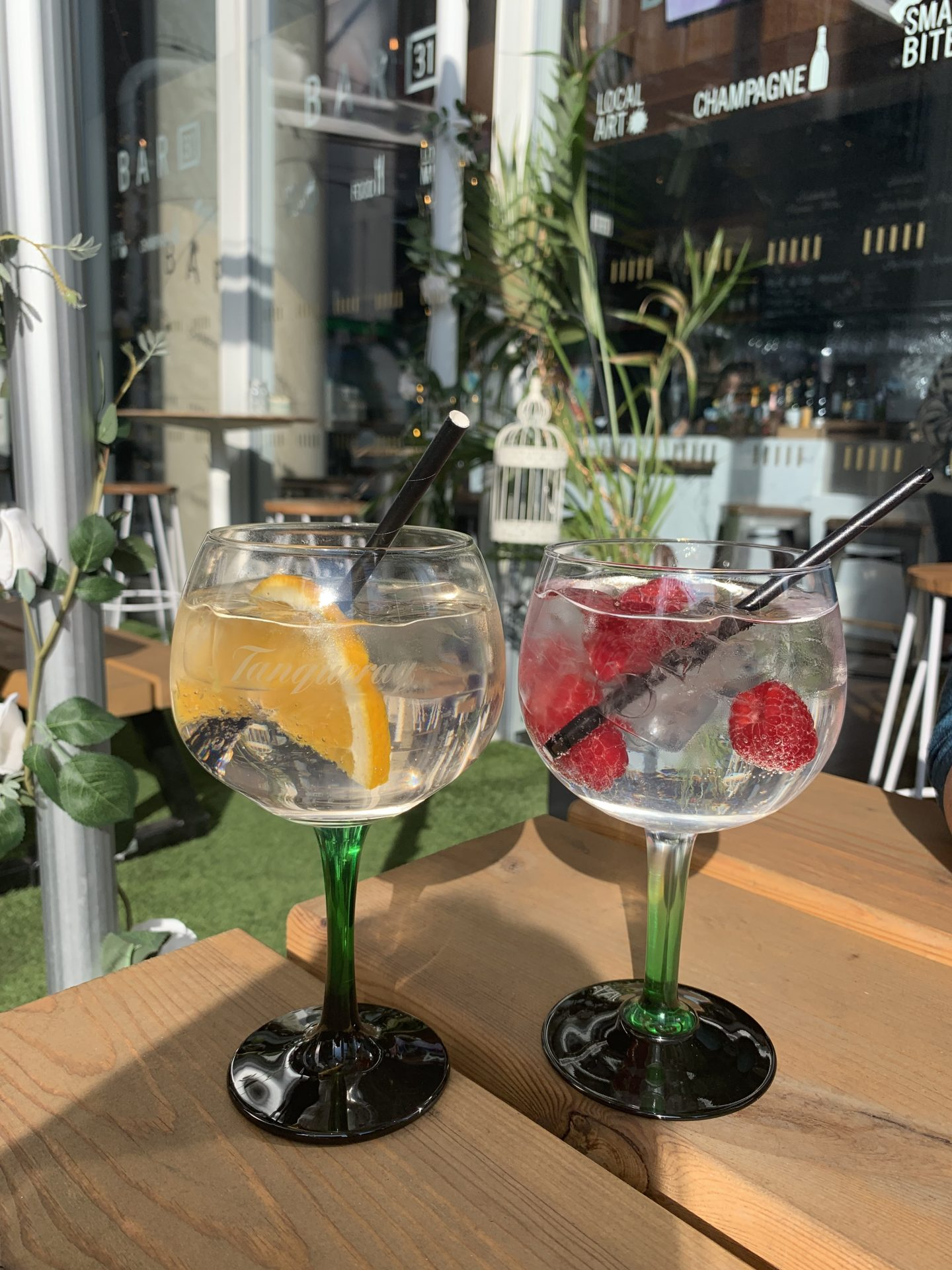 Tanqueray Gin Garden at Bar 31, Shangri-La Hotel at The Shard