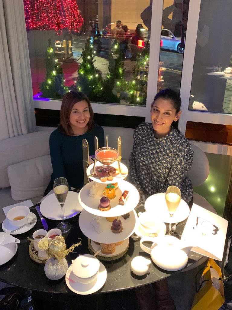 The Festive Afternoon Tea at The Connaught
