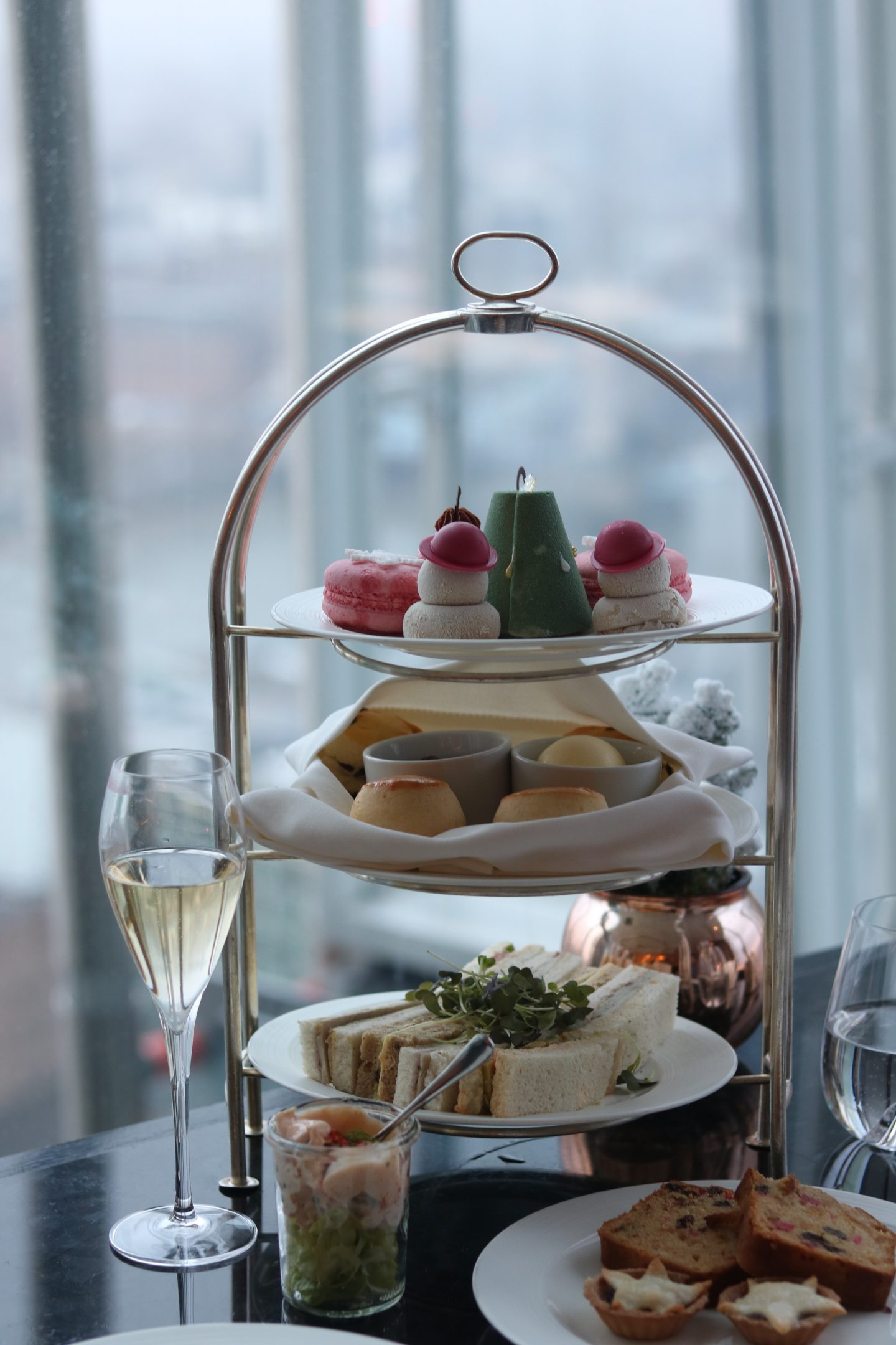 Festive Afternoon Tea at TĪNG, The Shangri-La Hotel at The Shard