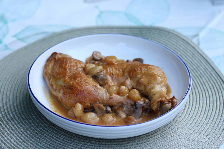 Soutine's Coq au Riesling